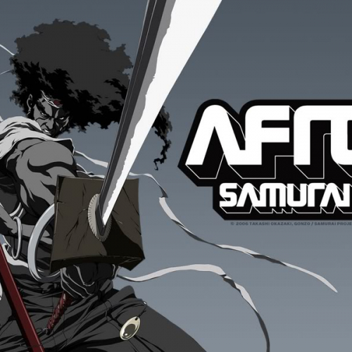 Самурайский меч + музыка RZA=Afro Samurai